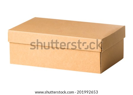 Box isolated on a white background