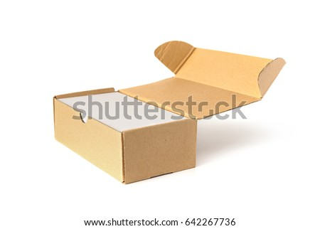 Box business cards on white stock photo 642267736 shutterstock box of business cards on white reheart Choice Image