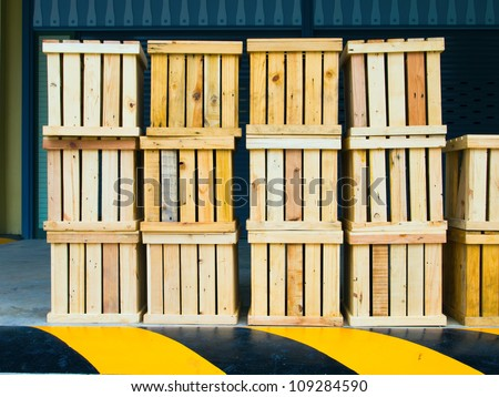 box wood - stock photo