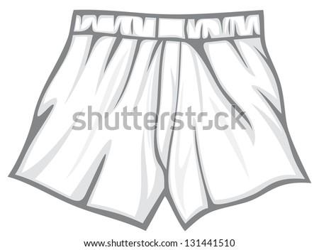 boxer shorts (underwear, men's boxer shorts, man underwear, underwear men's boxer shorts) - stock photo