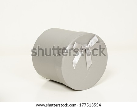 boxes isolated on white background - stock photo