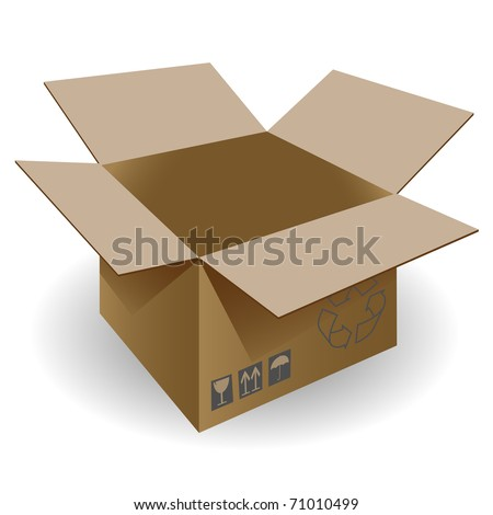 Boxes on a white background.