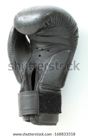 boxing glove white background