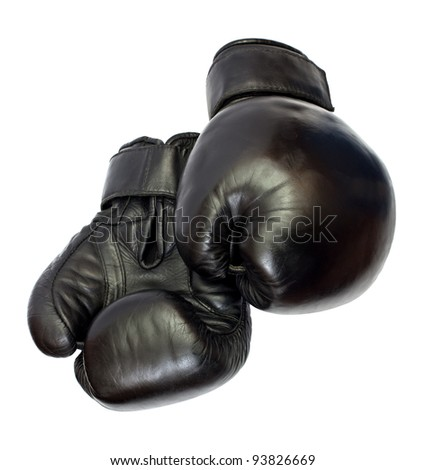 Boxing-gloves isolated on a white background