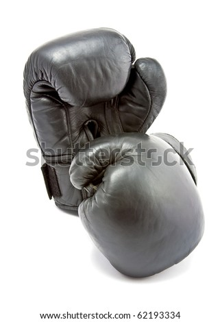 boxing-gloves on a white background