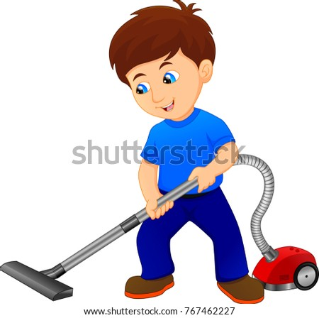 Boy Cleaning Stock Images, Royalty-Free Images & Vectors ...