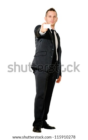 boy elegant advertising - stock photo