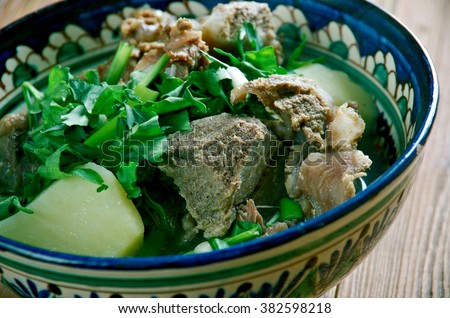 Boat noodles pork kuay tiew moo stock photo 455680402 for Azerbaijani cuisine