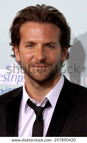 Bradley Cooper at the Los Angeles premiere of 'He's Just Not That Into You' held at the Grauman's Chinese Theater in Hollywood on February 2, 2009.  - stock photo