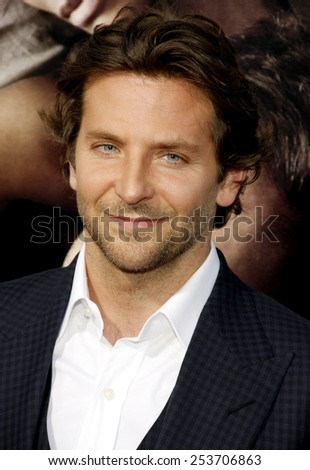 "Bradley Cooper at the Los Angeles premiere of ""The Words"" held at the ArcLight Theatre in Los Angeles, United States on September 4, 2012."