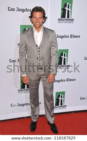 Bradley Cooper at the 16th Annual Hollywood Film Awards at the Beverly Hilton Hotel. October 22, 2012  Beverly Hills, CA Picture: Paul Smith
