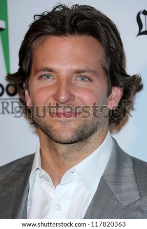 Bradley Cooper at the 16th Annual Hollywood Film Awards Gala, Beverly Hilton Hotel, Beverly Hills, CA 10-22-12