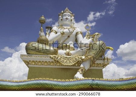 Brahman Shrine - stock photo