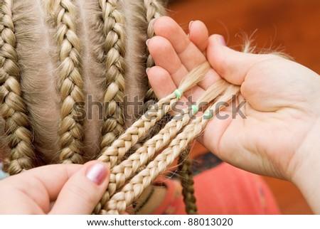 braiding - stock photo