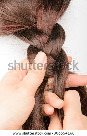 braiding hair