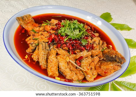 Braised fish in soy sauce