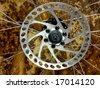brake disk - stock photo