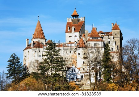 Bran Castle - Dracula`s Castle. Bram Stoker, who fashioned portions of his character Count Dracula based on aspects of Vlad the Impaler, used Bran Castle as his model for Dracula's castle