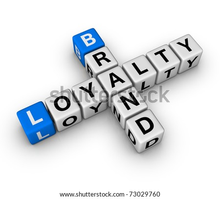 brand and customer loyalty crossword