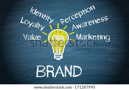 Brand - Business Concept - stock photo