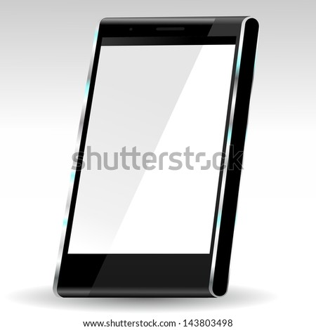 brand new future smartphone 6 release of all best selling top brand, large �·D illustration - stock photo