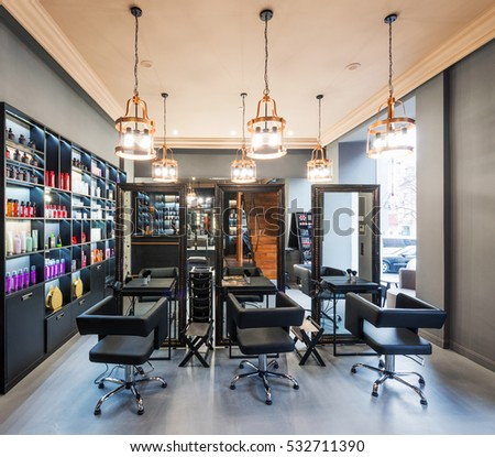 brand new interior of european beauty salon - Beauty Salon Interior Design Ideas