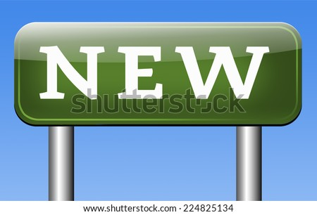 brand new latest innovation top product - stock photo