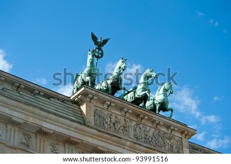Brandenburg Gate Detail