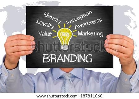 Branding - stock photo