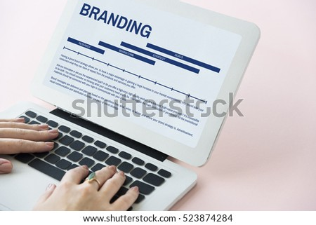 Branding Marketing Commercial Product Strategy Concept