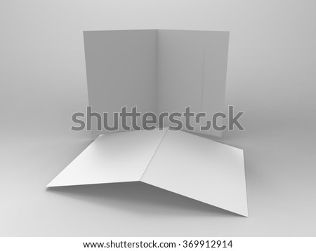 Branding Stationary 3D Render Folder  is a professional 3D render that can be used for various marketing campaigns, as well as brand marketing. - stock photo