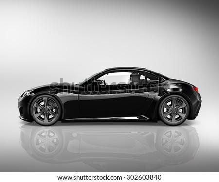 Brandless Car Automobile Vehicle Concept - stock photo