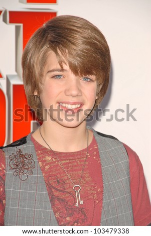 "Brandon Tyler Russell at ""The Spy Next Door"" Los Angeles Premiere, The Grove, Los Angeles, CA. 01-09-10"