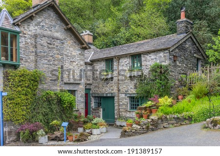 BRANTWOOD, ENGLAND May  05: John Ruskin's home on May 5th, 2014 in Brantwood, England. John Ruskin was a English art critic of the Victorian era, and a prominent social thinker and philanthropist.