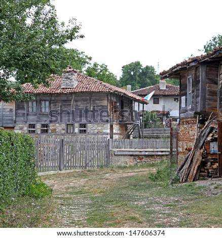 Brashlyan - typical village in Bulgaria