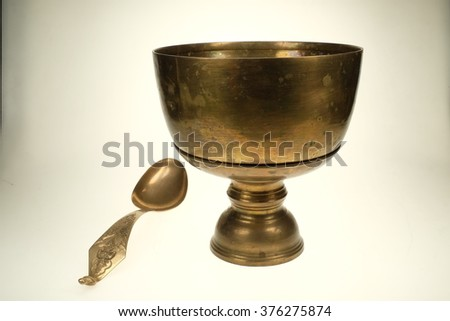 Brass Bowl from Thailand