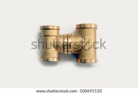 Brass Fittings Plumbing Fittings For Heating And Plumbing Systems Brass Tee Joint