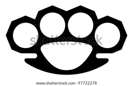 Knuckle duster template images for Brass knuckles template