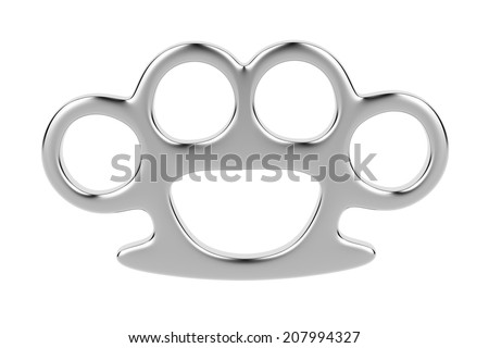 Brass knuckle stock images royalty free images vectors for Brass knuckles template