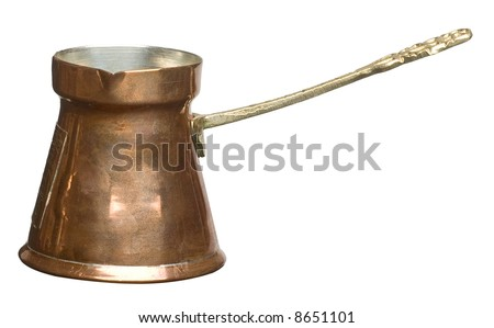 brassy cezve-turkish coffee maker