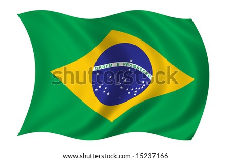 Brazil Flag (more flags in my portfolio)