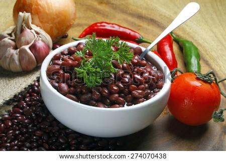 Brazilian beans - stock photo