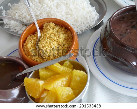 Brazilian food - stock photo