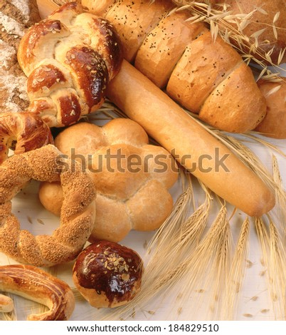 bread - stock photo