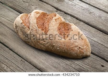 Bread. - stock photo