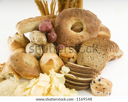 Bread and other carbohydrates