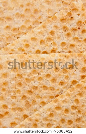 Bread crisps background