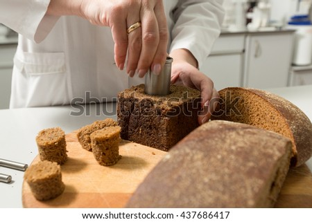 Bread porosity
