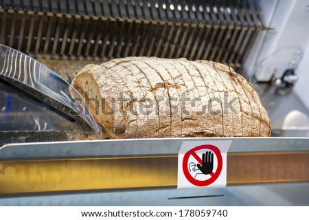 Bread Slicer Machine  - stock photo