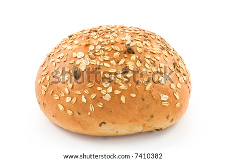 bread studio isolated on white background